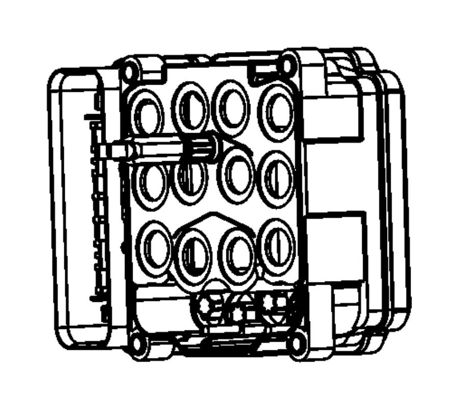Chrysler 300 Module  Anti