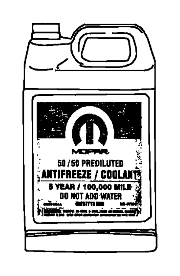 2017 ram 4500 antifreeze  coolant  gallon  export  oat