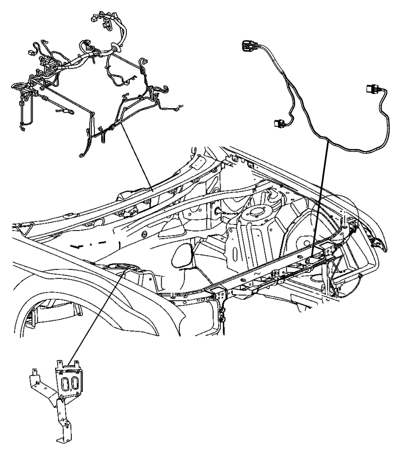 dodge challenger wiring  headlamp to dash   high intensity discharge headlamps