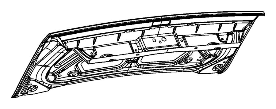 2014 dodge challenger decklid   parkview tm  rear back-up camera   related