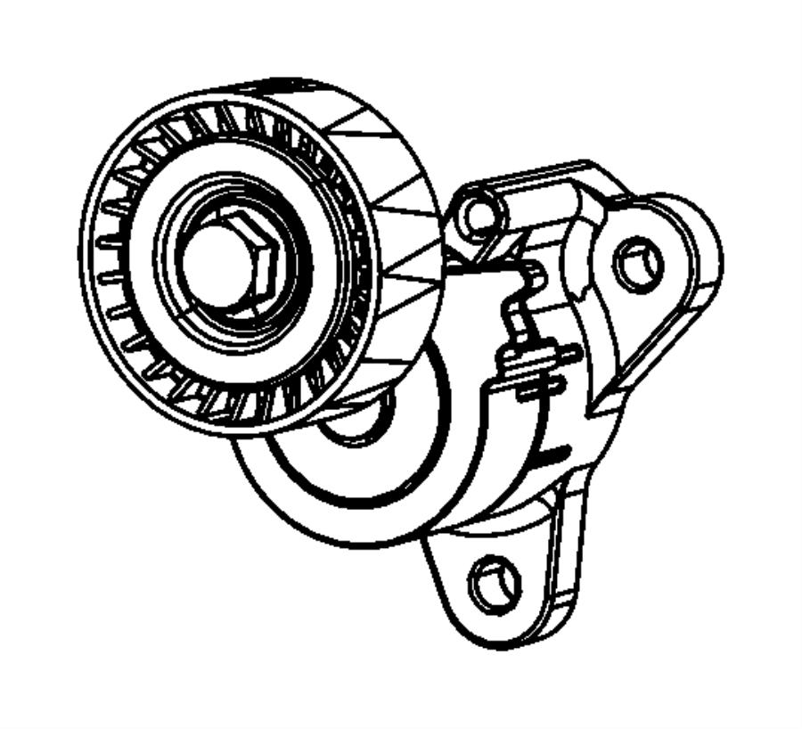 jeep 4 0l belt tensioner