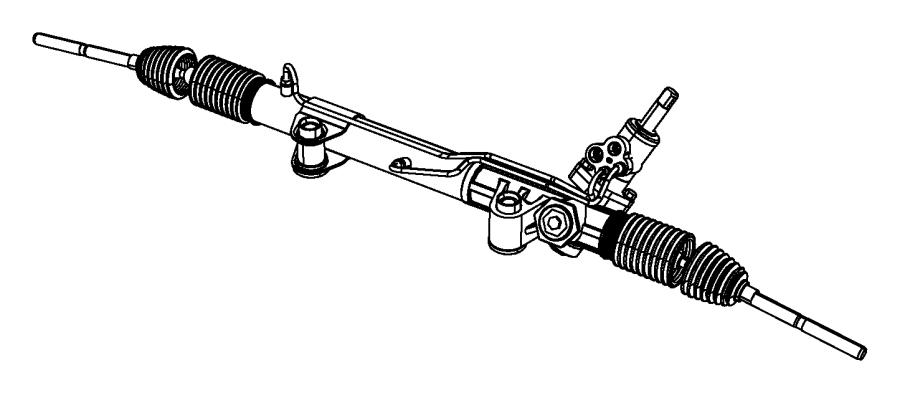dodge nitro bushing  steering gear  suspension  rack  pinion