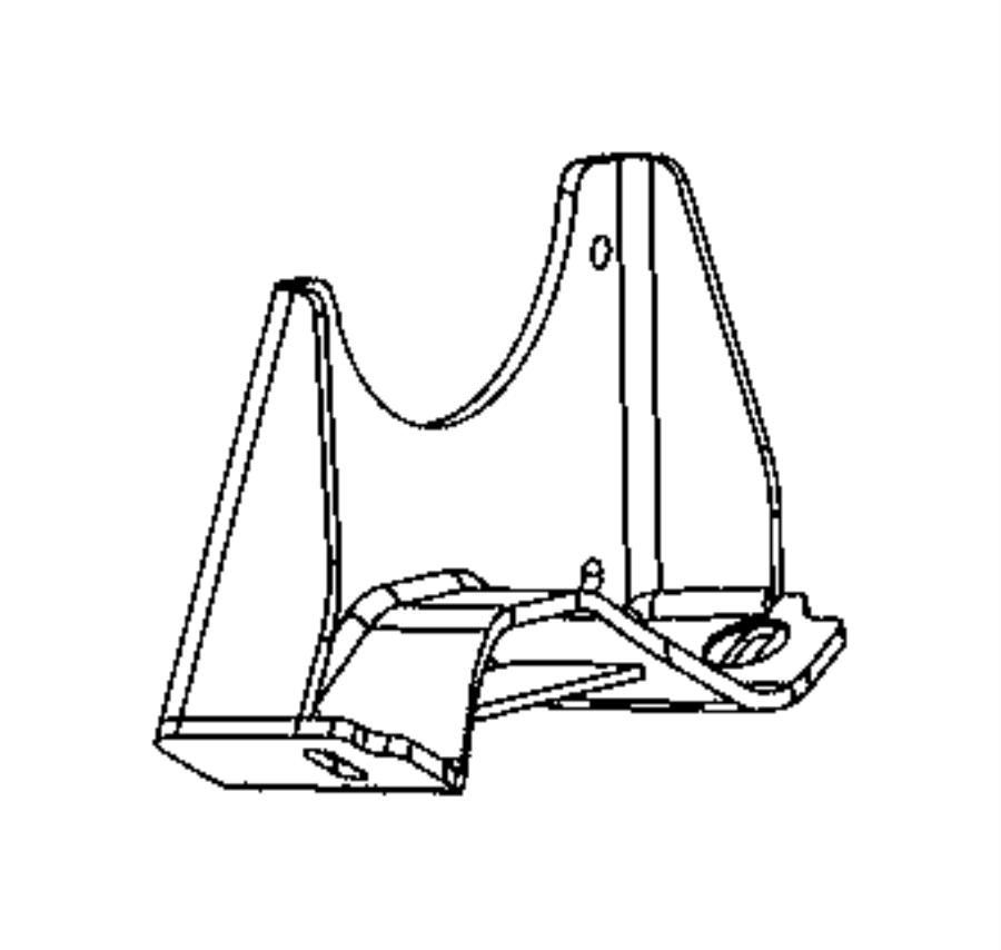dodge ram 1500 bracket  transmission mount