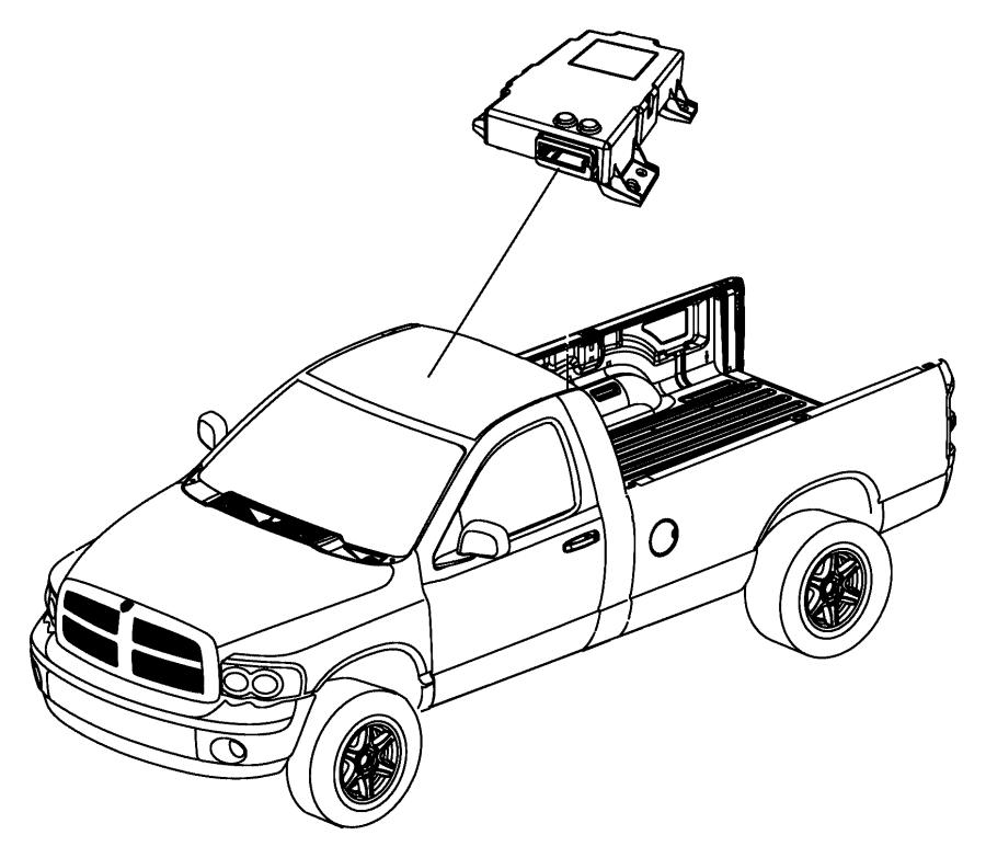 2009 dodge ram 1500 module  compass  trim   all trim codes