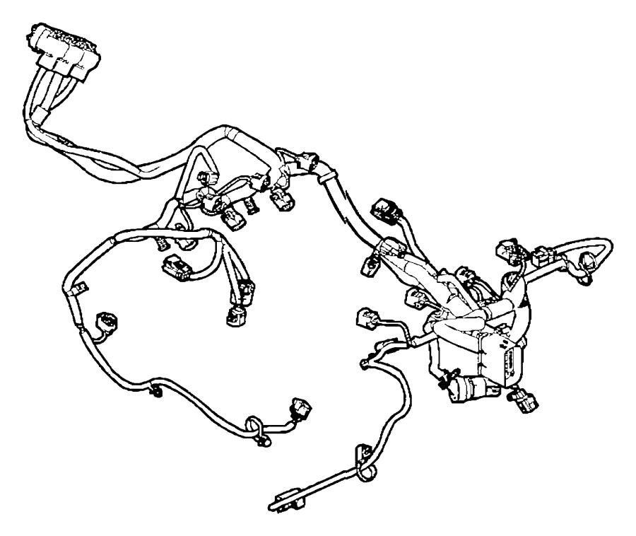 2014 dodge grand caravan wiring  engine  vvt