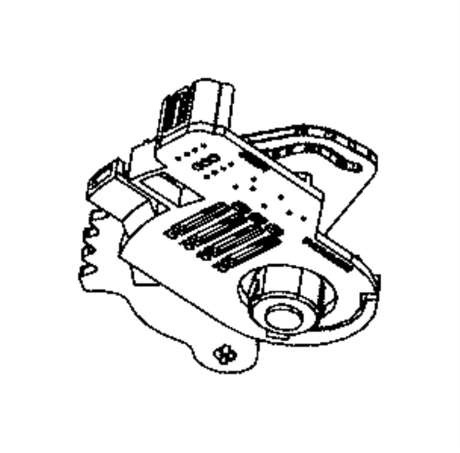 2007 Chrysler Town Country Transmission: 2008 Chrysler Town & Country Sensor. Transmission Range