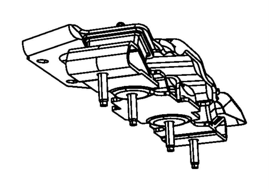 2012 jeep wrangler isolator  transmission mount