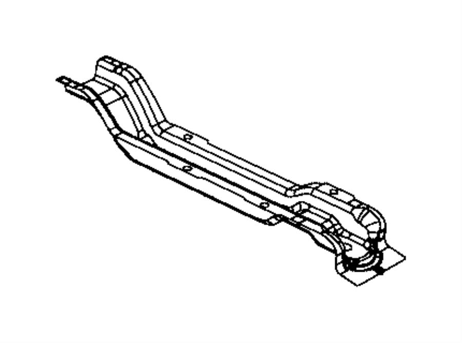 2017 jeep wrangler crossmember  floor pan  left  body