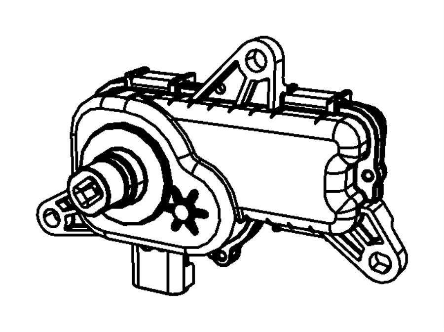 2010 dodge ram 1500 actuator  intake short running valve