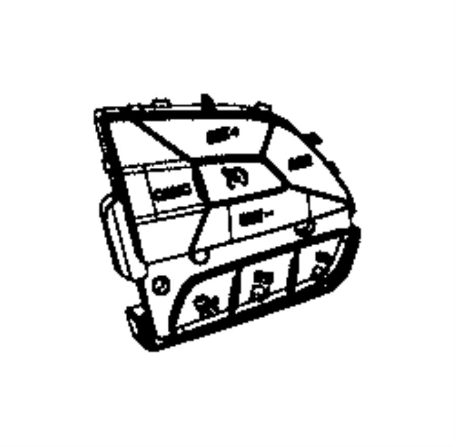 dodge durango switch  speed control  trim   no description available