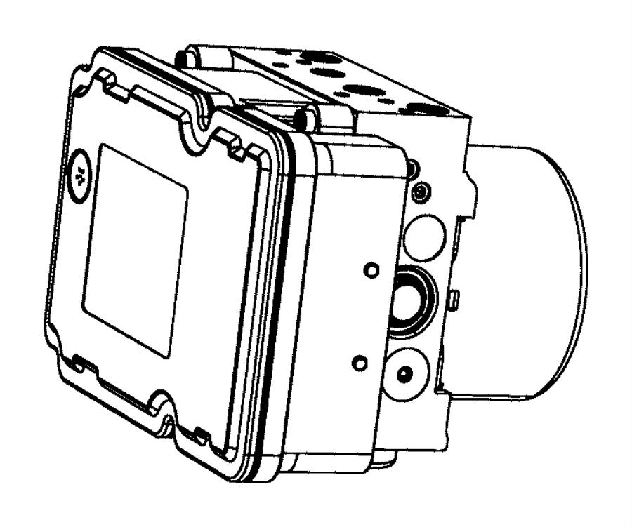 2015 Chrysler 200 Module. Anti-lock Brake System. Stop