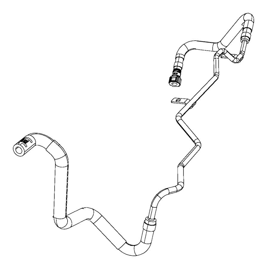 chrysler 200 hose  coolant bottle supply  after 11  03  14