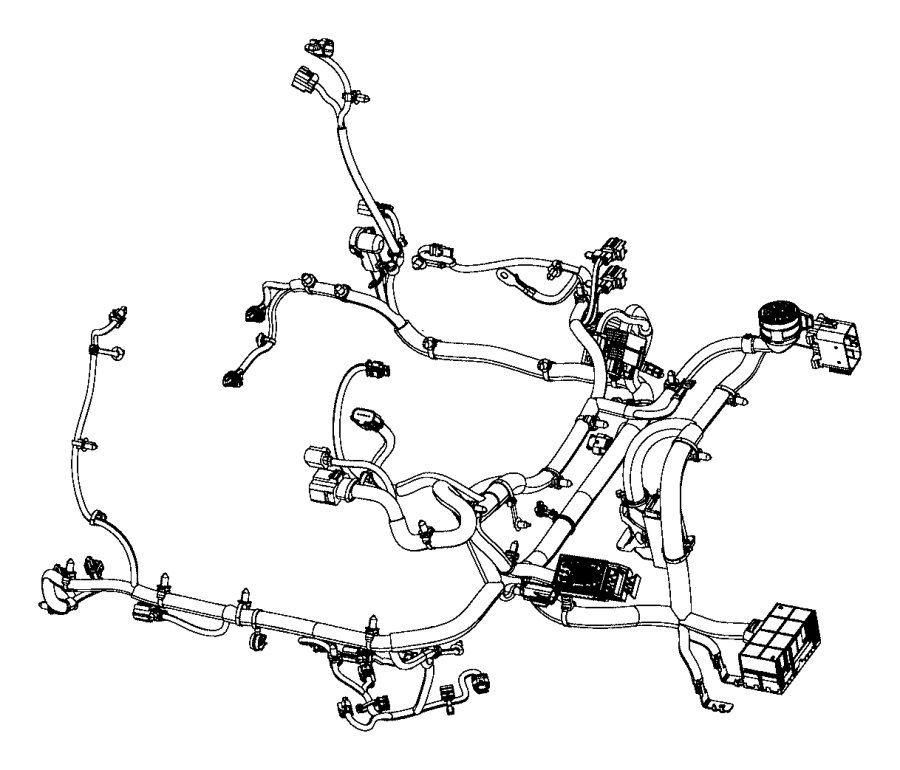 2015 chrysler 200 wiring  engine