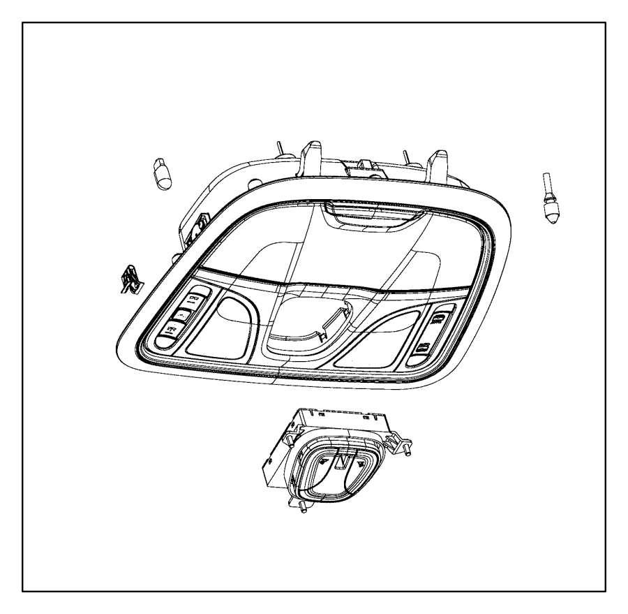 chrysler 200 lamp  switch  dome and reading  reading lamp