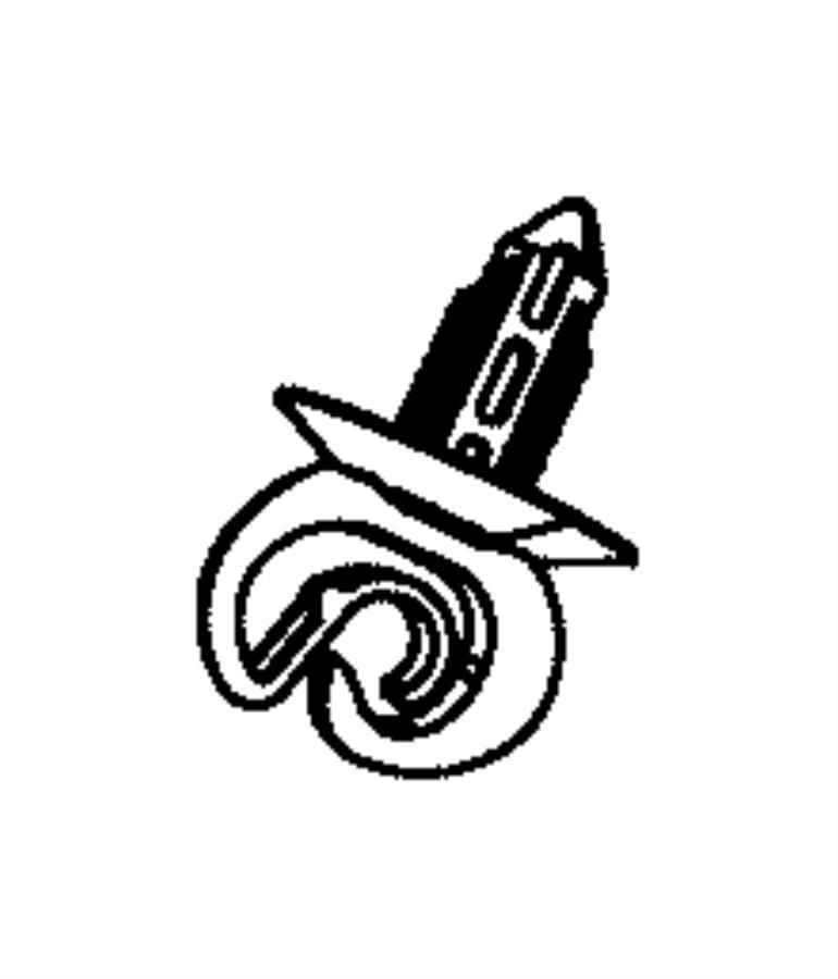 2013 jeep wrangler clip  clutch tube