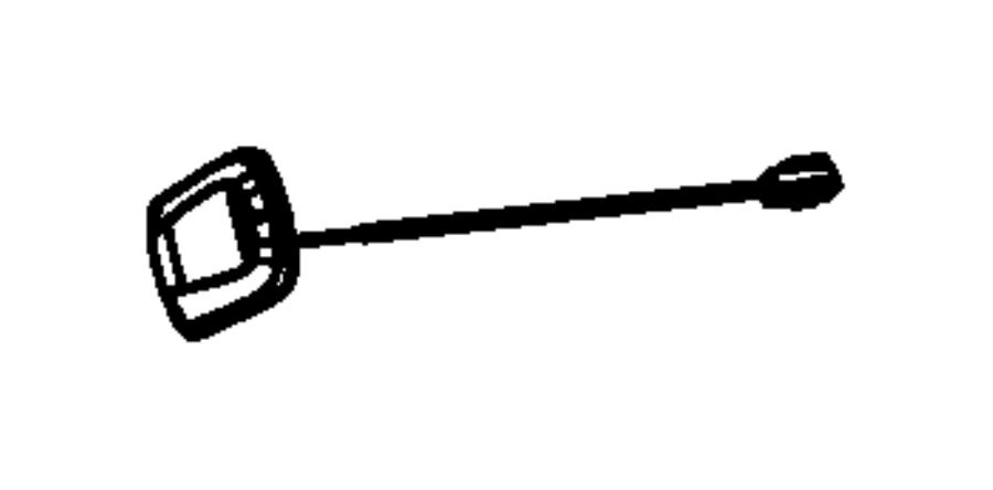 2017 dodge challenger module  radio antenna   integrated