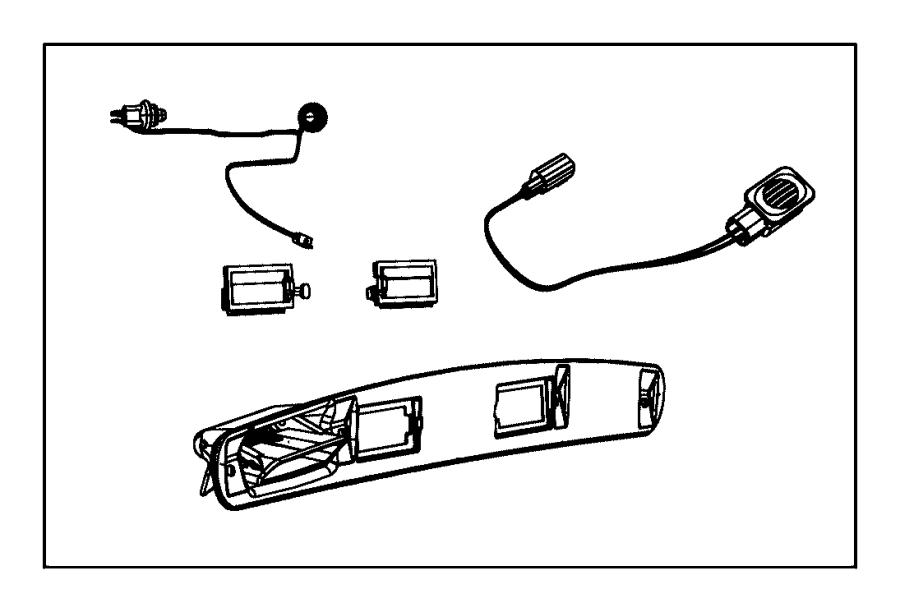 2015 Dodge Journey Handle  Liftgate  Rear  Keyless