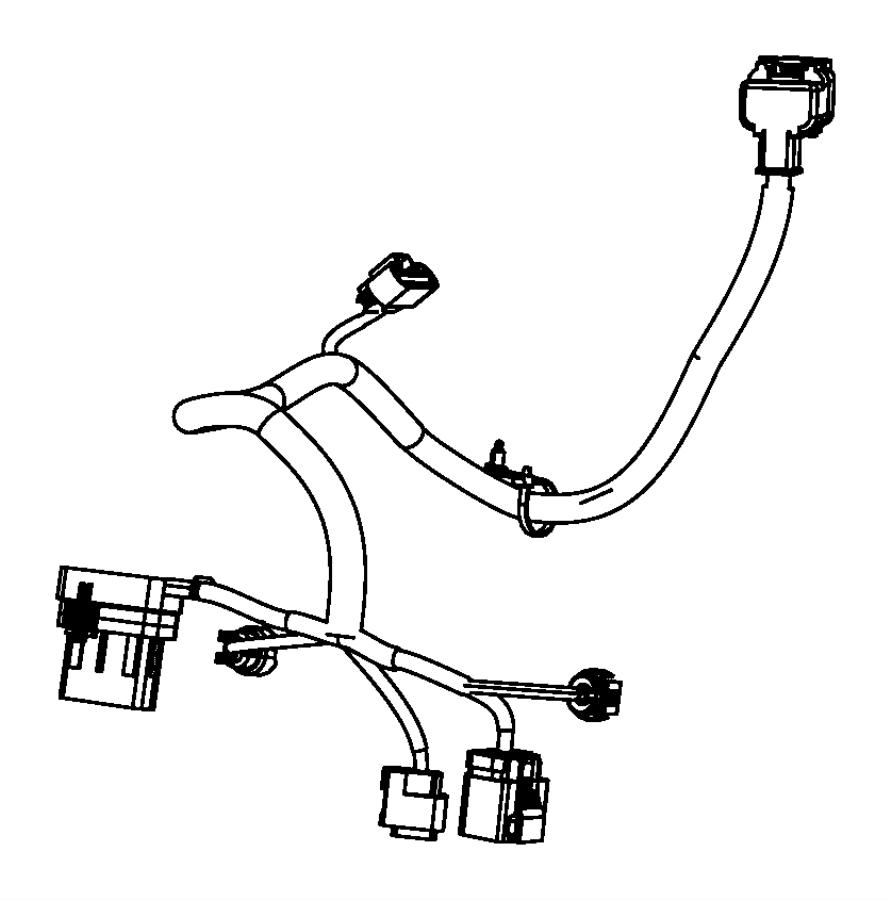 Dodge Journey Wiring  Engine  Transmission  Export