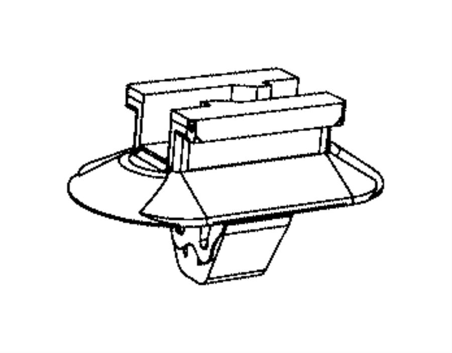 2016 Jeep Cherokee Clip  Wiring  Rear Wheel Speed Sensor Wiring  Wheel Speed Sensor