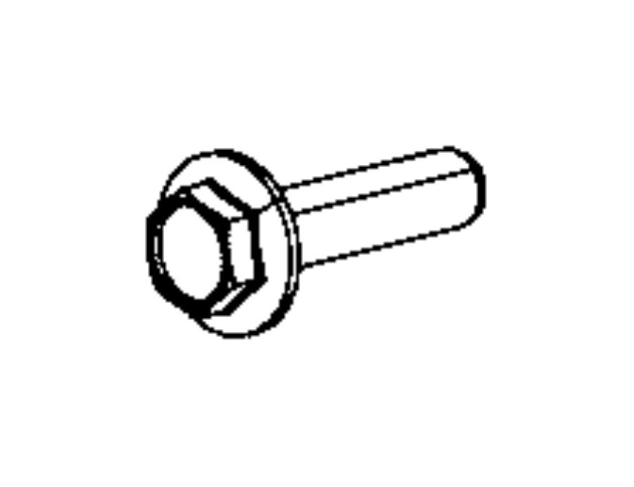2017 chrysler 200 bolt  hex flange head  m12x1 50x45 00