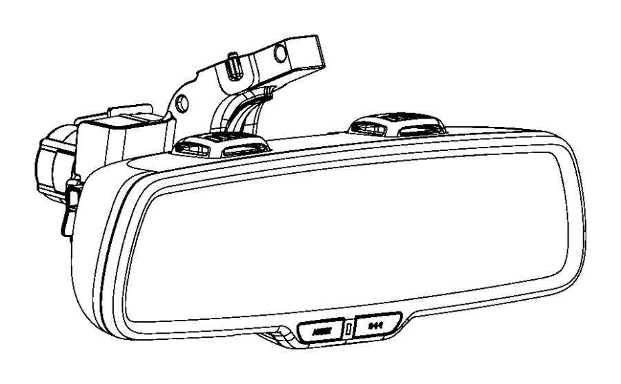 2014 ram 3500 mirror  inside rear view   gr4    rk4