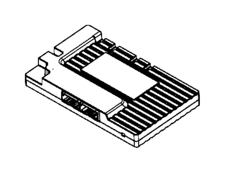 chrysler 300 amplifier  watt  module  instrument