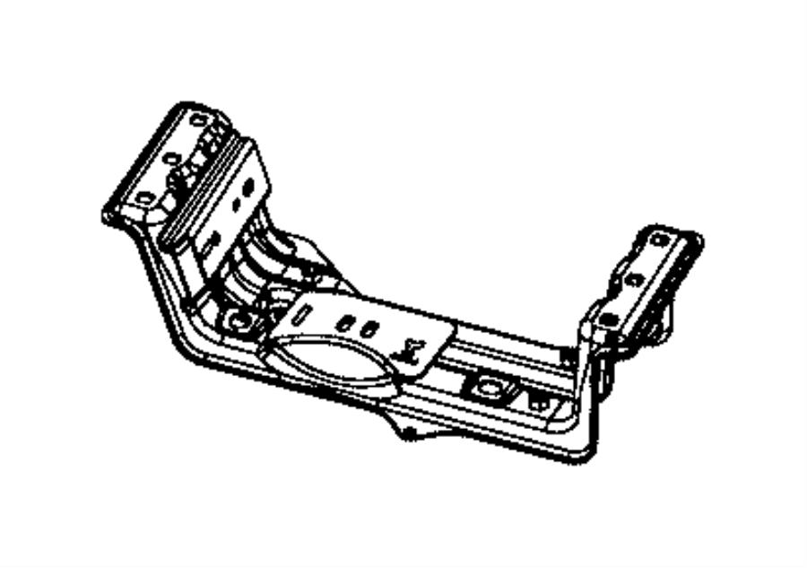 2016 jeep grand cherokee crossmember  transmission  used