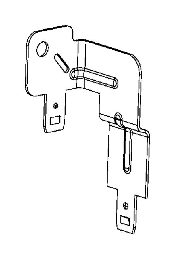 2015 chrysler town  u0026 country bracket  relay and bracket