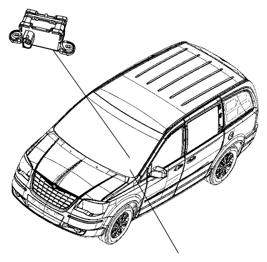 2017 dodge grand caravan sensor  dynamics  used for
