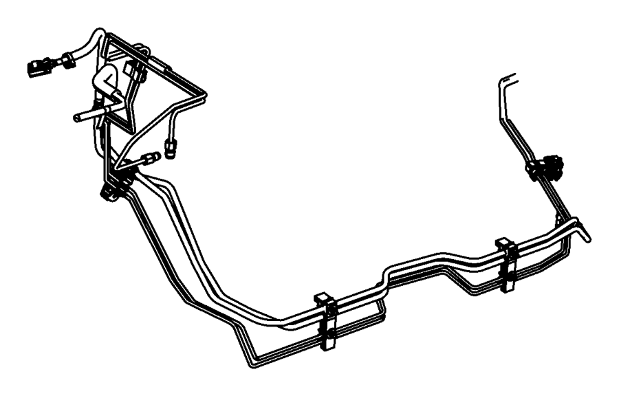 jeep grand cherokee bundle  fuel line  lines  built  brake