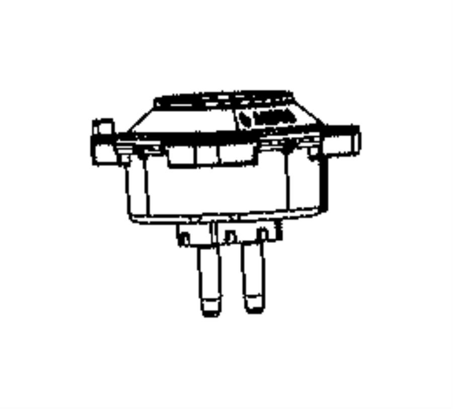 jeep grand cherokee isolator  transmission mount