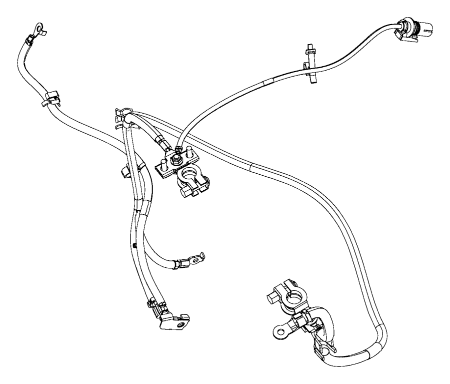 jeep patriot wiring  battery