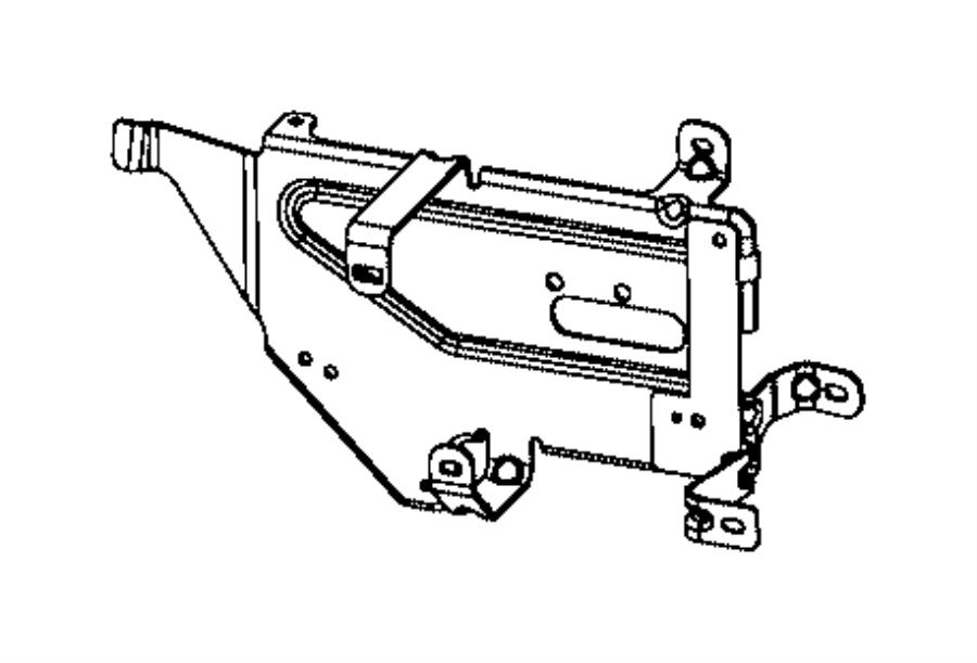 dodge ram 2500 bracket  pressure regulator  fuel  cng