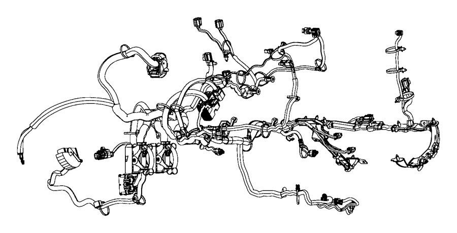 2015 ram 1500 wiring  engine   air conditioning   powertrain  mopar  electrical