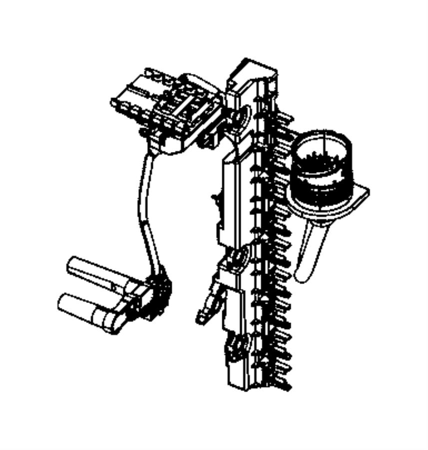 2015 jeep renegade sensor  transmission range  ratio  axle  rear