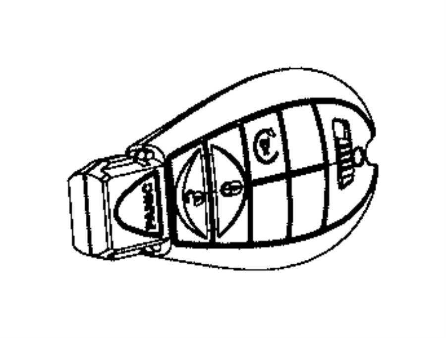 dodge durango transmitter  integrated key fob  remote  start  system