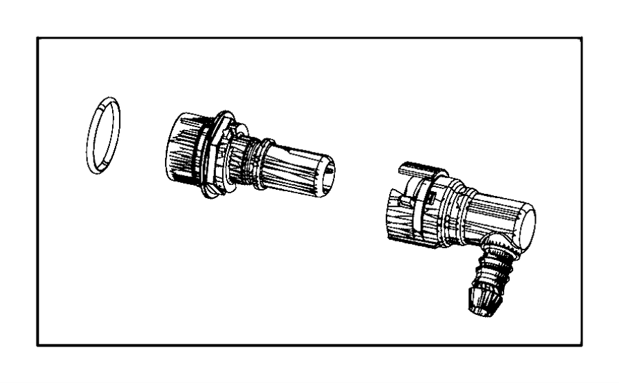 2016 dodge challenger adapter  pcv valve   do not use