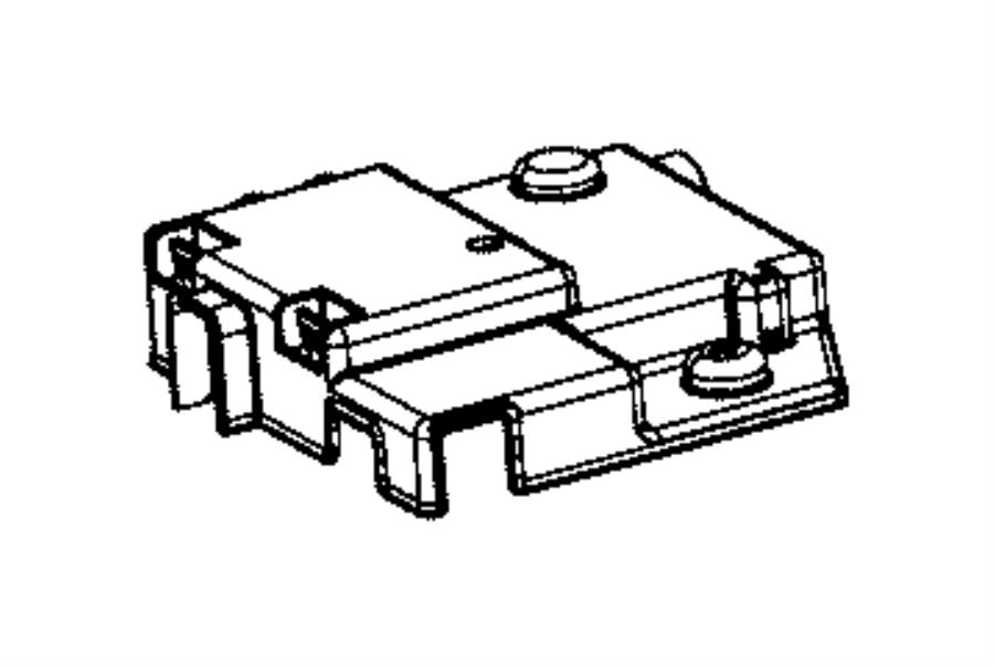 2015 ram 1500 cover  battery  fuseblock  export  mexico