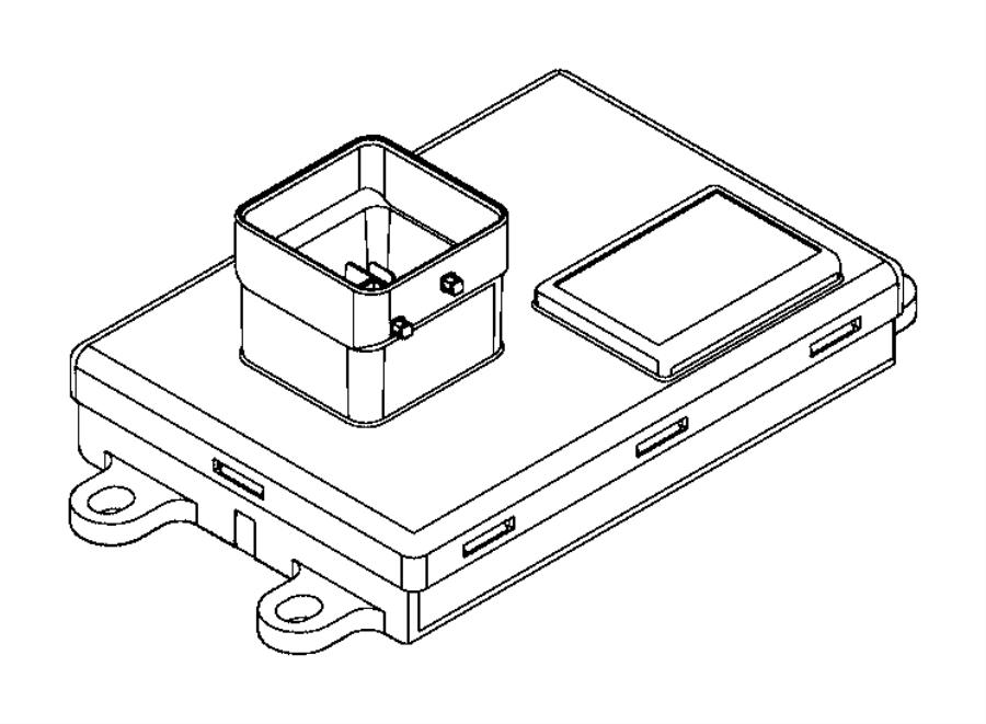 2013 dodge dart module  smart drive unit  controller  export  power  train  fuel