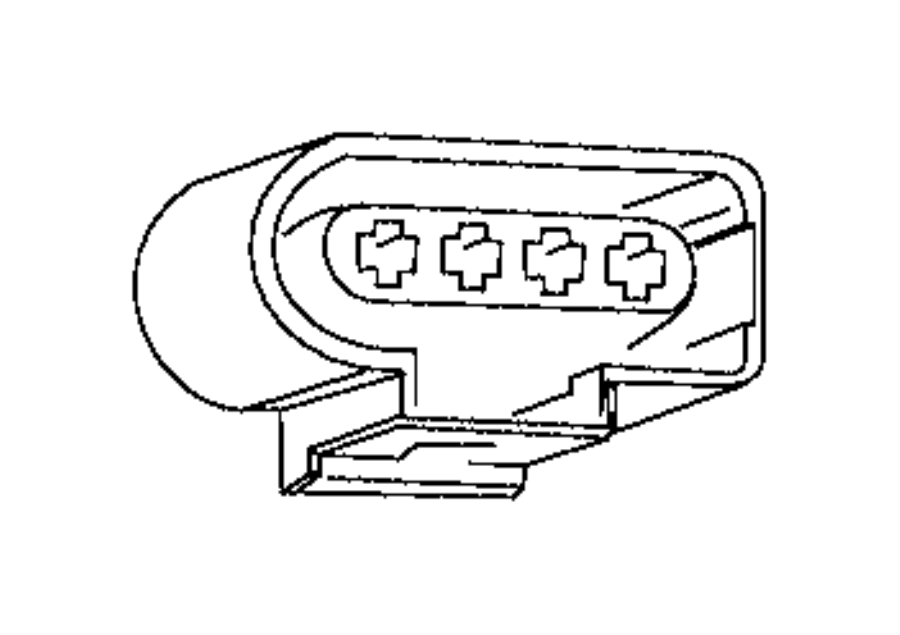 2017 ram promaster city wagon connector  electrical