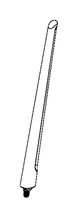 2017 jeep renegade mast  antenna  export  sunroof