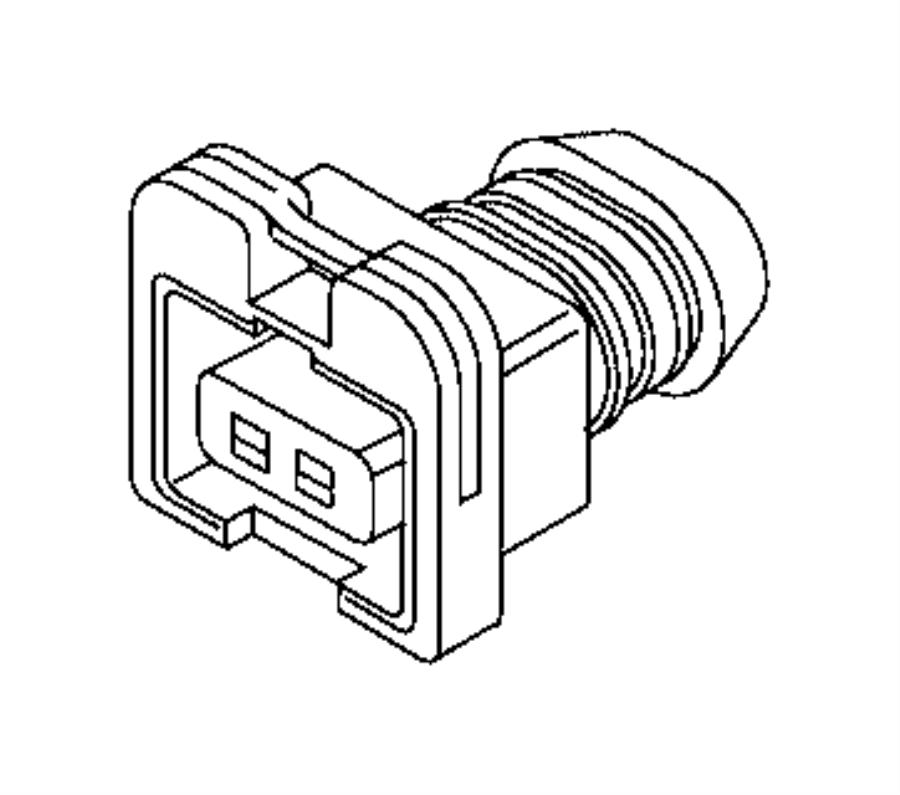 2016 jeep renegade connector  solenoid  export  us  canada