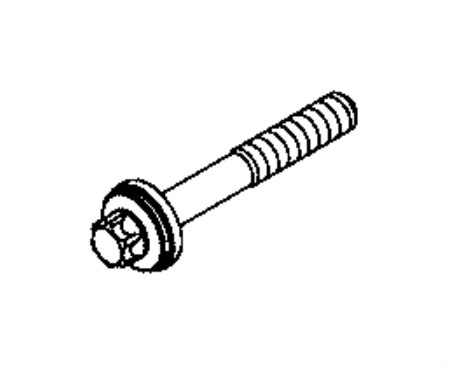 2015 jeep renegade used for  bolt and washer  torx head