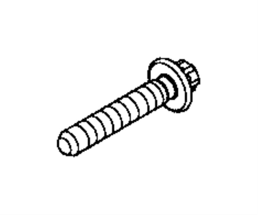 2015 jeep renegade bolt  torx head  m10x1 50x55 00  suspension  front