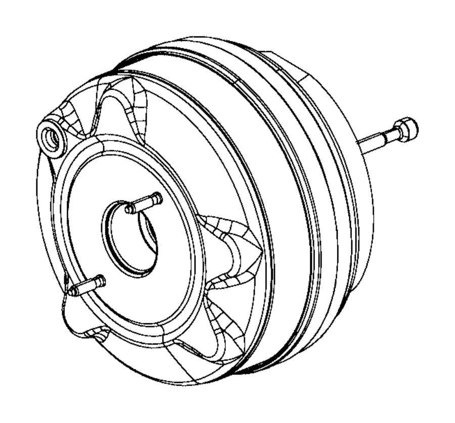 2016 fiat 500x booster  power brake  dfh  maintenance