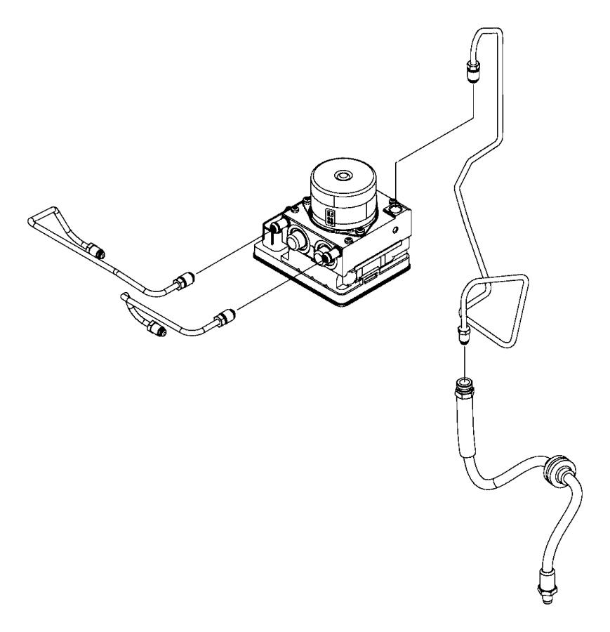 2018 jeep renegade tube  brake  secondary  hoses  maintenance