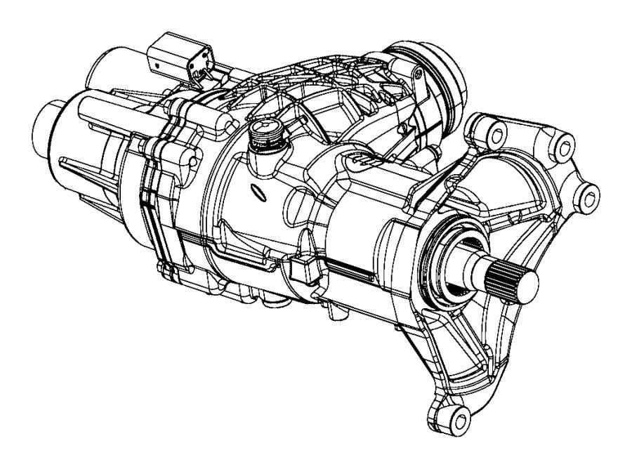 2015 jeep renegade power transfer unit  export
