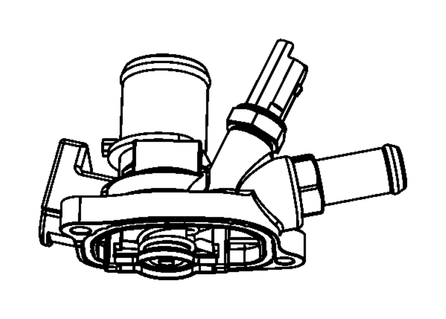 2015 jeep renegade thermostat   engine block heater