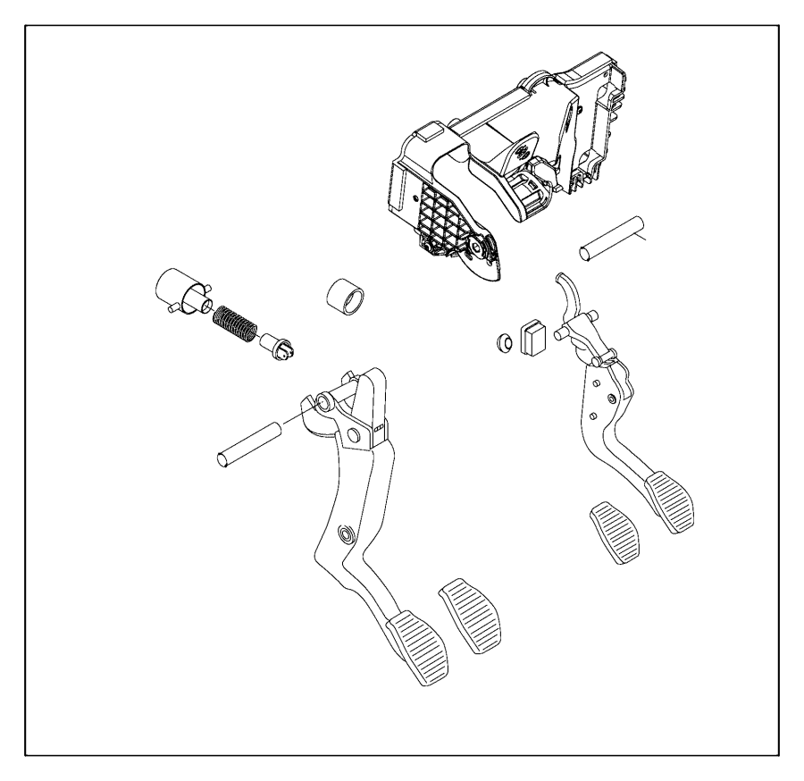 2015 jeep renegade support  brake pedal  device  limiting