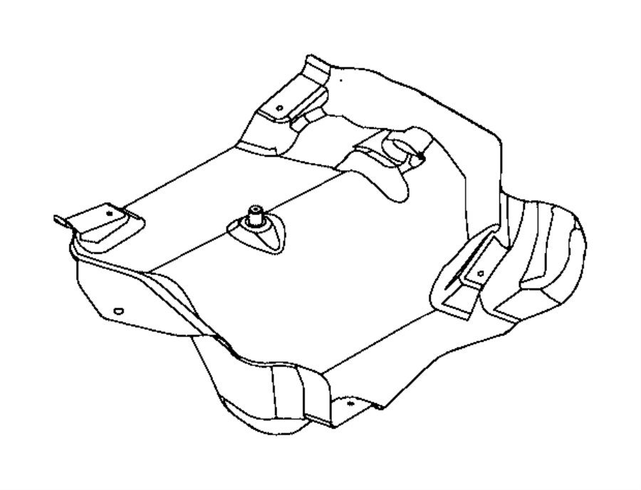 2015 jeep renegade shield  fuel tank heat  export  exhaust  system